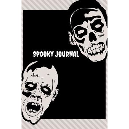Halloween Themed Writing Paper (Spooky Journal: Unique Scary & Skeleton themed Halloween Journal - A blank line journal with big paper size 6 X 9 - multi purpose note)
