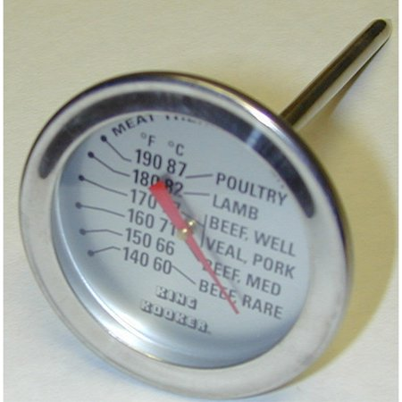 King Kooker Meat Thermometer Meat Thermometer with five-inch Probe is easy to use.