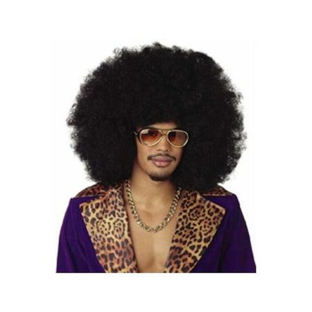 Curly Afro Wig (Black Jumbo Afro Wig)