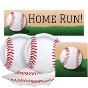 Baseball Value Party Kit, 16 Guests, 16 Guests