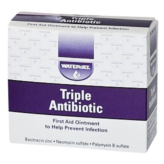 Waterjel - Ointment First Aid Triple Antibiotic 0.9gm Packet 50 Packets