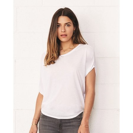 Circle Blouse (Bella + Canvas Women's Flowy Circle Top )