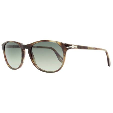 Persol Oval Sunglasses PO3042S 972/71 Havana Brown Smoke 3042
