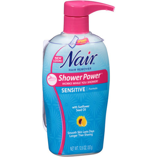 Nair Shower Power Sensitive Formula, 12.6 Oz