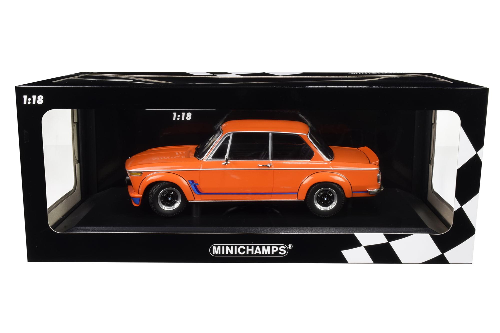1973 Bmw 2002 Turbo Orange With Stripes Limited Edition To 300 Pieces Worldwide 1 18 Diecast Model Car By Minichamps Walmart Com Walmart Com