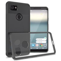 CoverON Google Pixel 2 XL / 2XL Case, ClearGuard Series Clear Hard Phone Cover