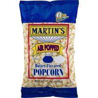 Martin's Air Popped Butter Flavored Popcorn - 4.5 Oz. (6 Bags)
