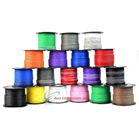 10 General Cables ((10) SPOOLS 100' Feet 14 Gauge BOAT AUTOMOTIVE Wire Auto Power)