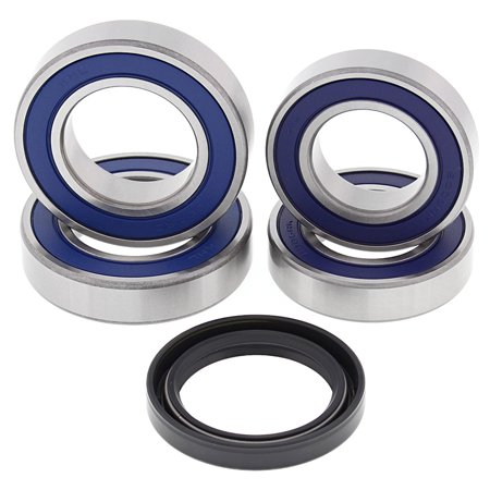 Ducati Racing Team - New All Balls Racing Wheel Bearing Kit 25-1707 For Ducati 999 R 2004 2005 2006, 749 2004 2005 2006, 999 S 2003 2004 2005 2006, 999 S Team USA 2007, 749 R 2005, 749 Dark 2005, 999 2003 2004 2005 2006