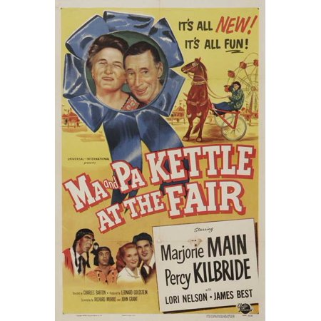 Ma and Pa Kettle at the Fair - movie POSTER (Style A) (11