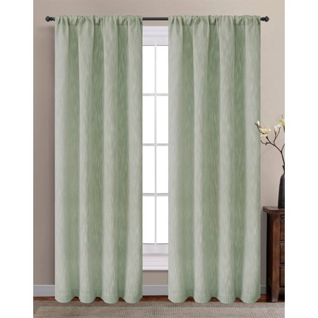 Laura Ashley 2-pk. Arabesque Curtain Panels