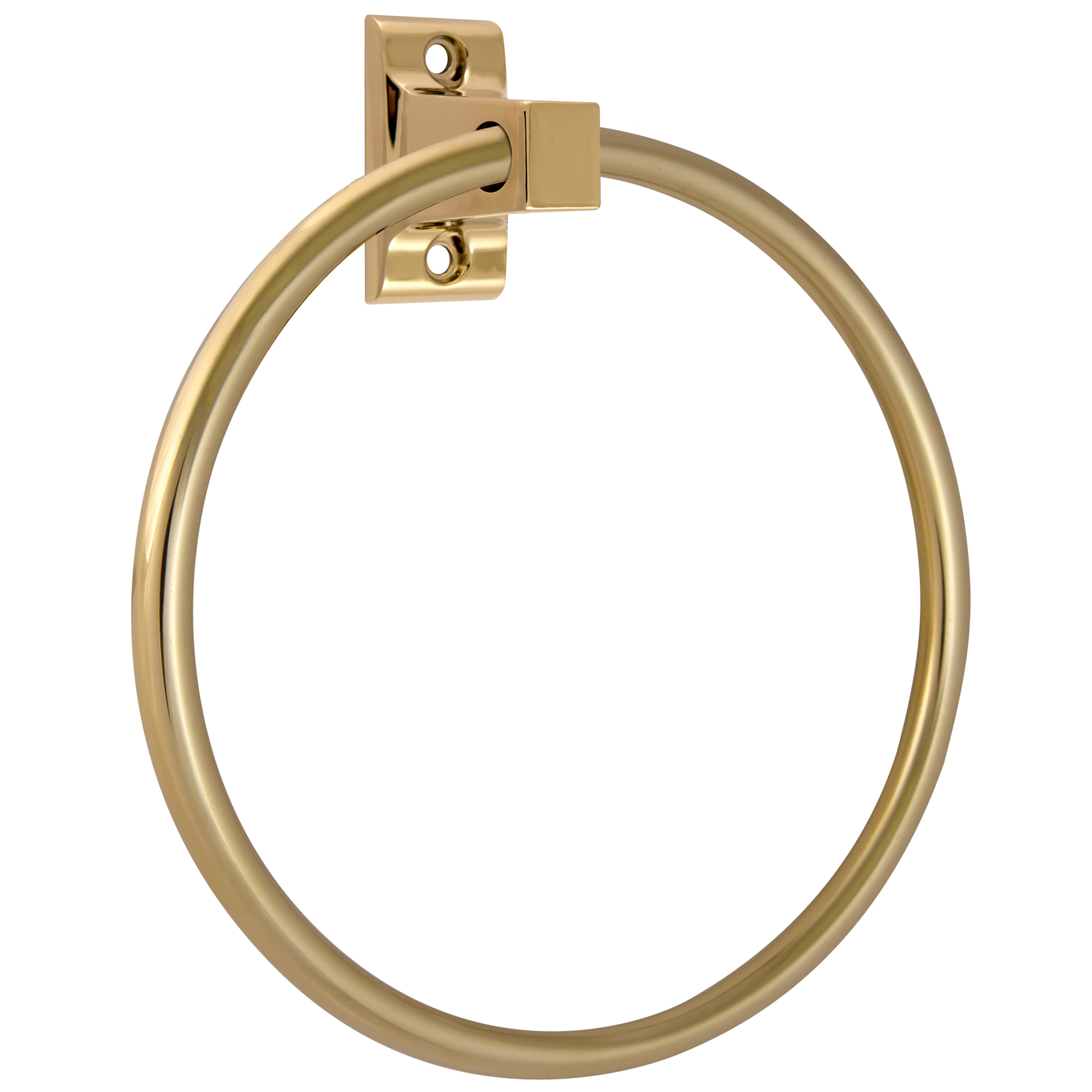 RV//Camper//Trailer Brass Plated Finish Metal Towel Ring