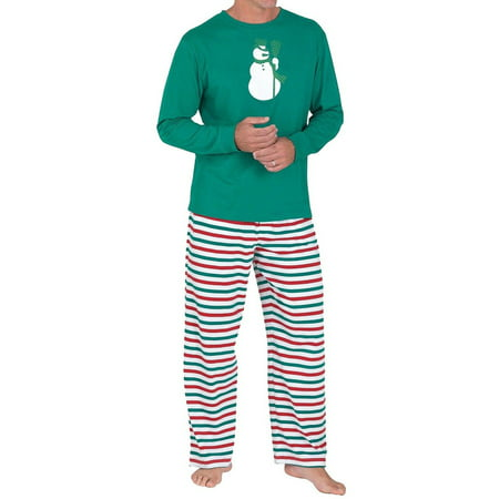 Nlife Christmas Parent-child Pajama Suit Matching Family Sleepwear