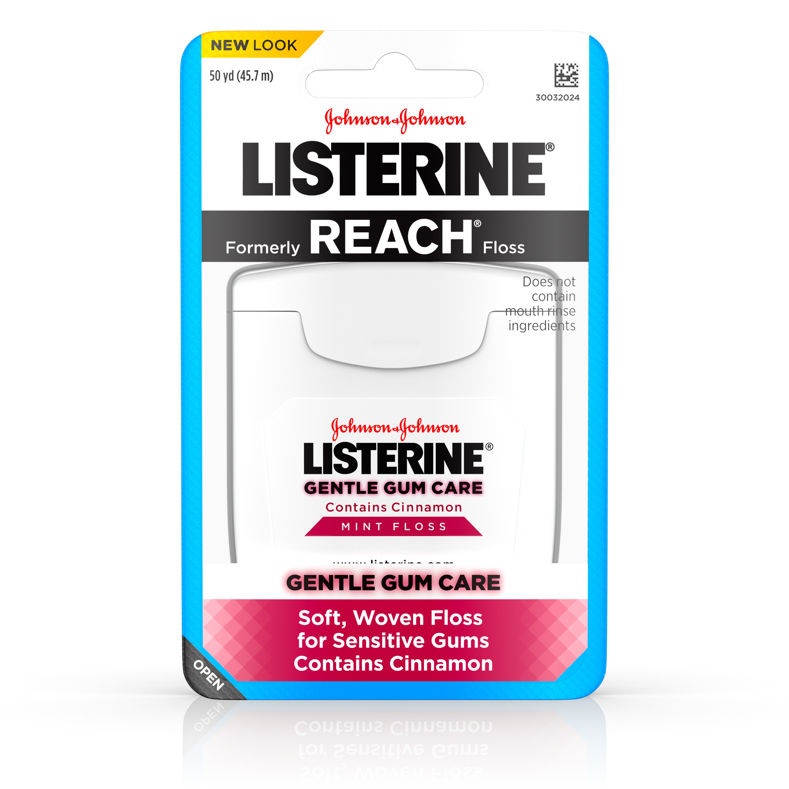 Listerine Gentle Gum Care Interdental Floss, Oral Care, Mint, 50 Yards