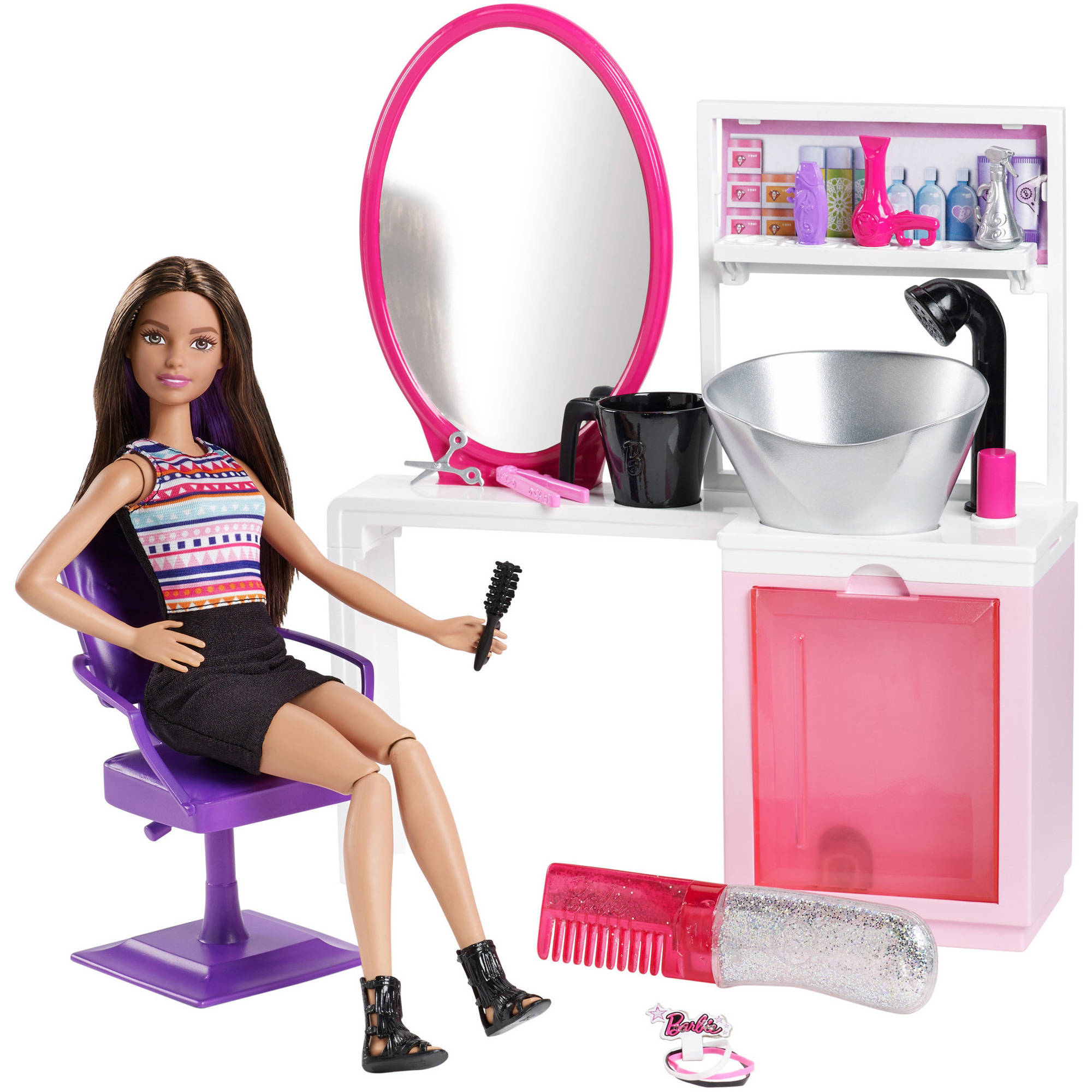 Barbie Beauty Salon and Doll, Brunette