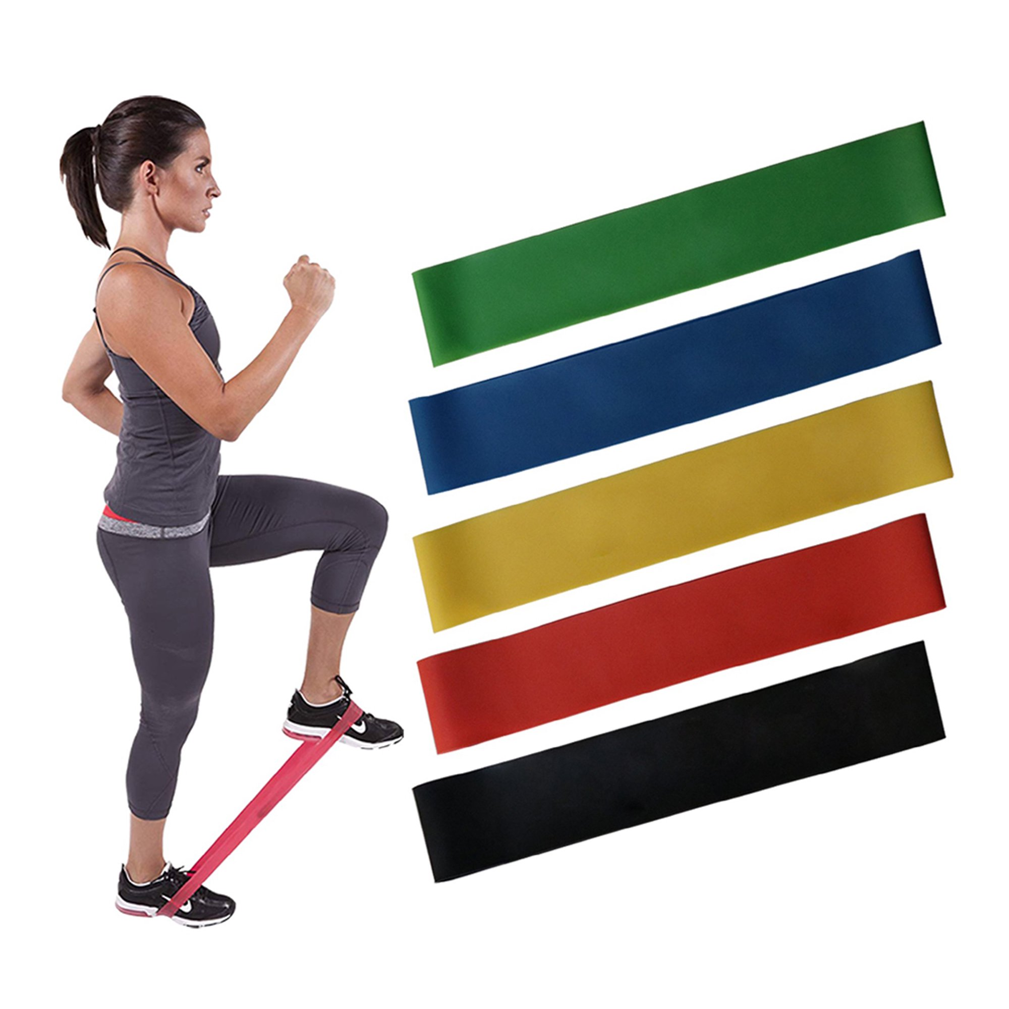 Firmou Fit Simplify Resistance Loop Exercise Bands for Home ...