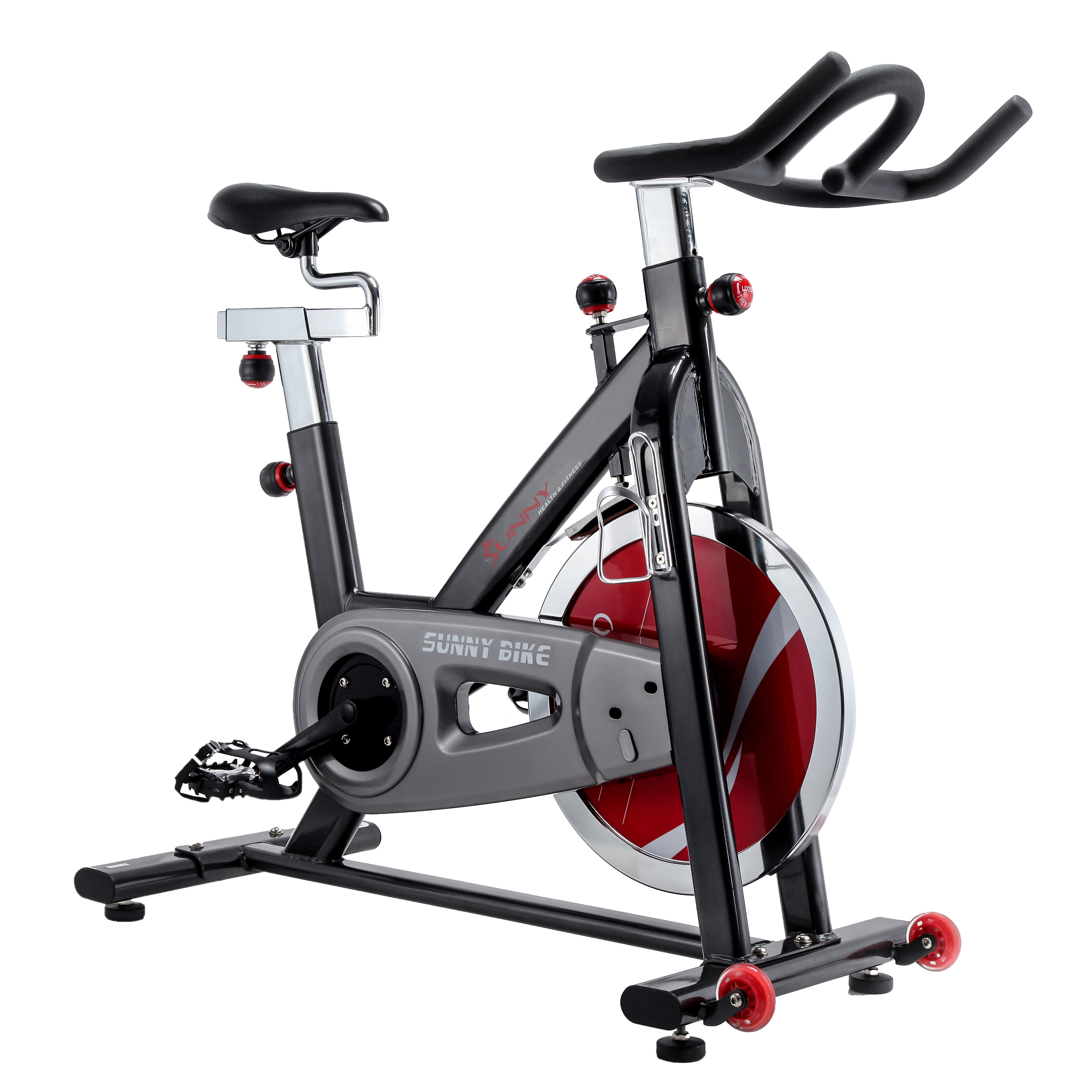 Chain Drive Indoor Cycling Trainer Exercise Bike by Sunny Health & Fitness SF-B1002C by Sunny Health & Fitness