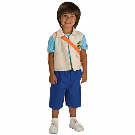 Go, Diego, Go! Deluxe Diego Child Halloween Costume - Pbs Kids Go Halloween