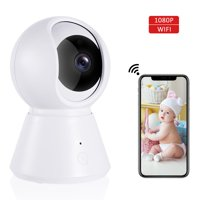 IPOW WIFI Video Baby Monitor Camera, Multi-purpose Wireless Camera for Baby Monitoring/ Home Security with Night Vision, Baby Crying Detection, 2-Way Audio, 2.4Ghz Wifi Security Camera