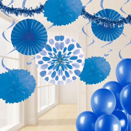 Colbalt Blue Party Decorations Kit