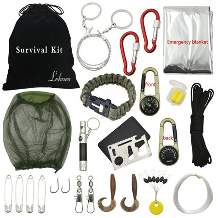 Outdoor Hiking Camping Emergency Survival Kits Tool Set First Aid Equipment - Halloween Survival Kit For Teachers