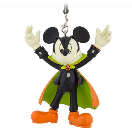 Disney Parks Halloween Mickey Vampire Figural Ornament New with Tags - Disney Park Halloween Treats