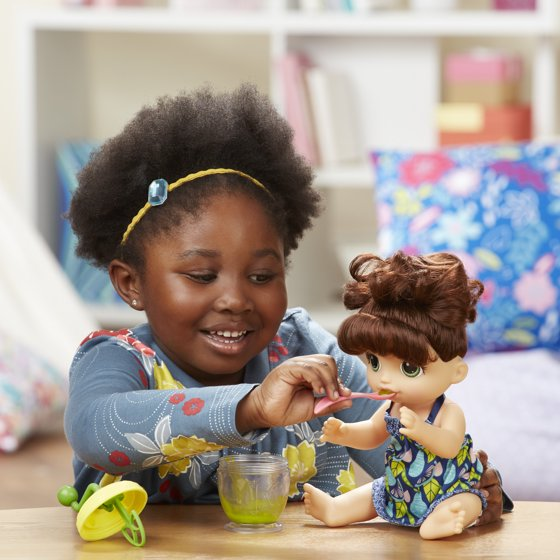 Baby Alive Sweet Spoonfuls Baby Doll Girl (BR) - Walmart com