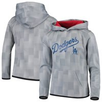 Los Angeles Dodgers Youth Polyester Fleece Sweatshirt - Gray