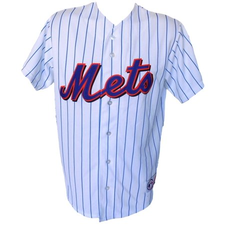 New York Mets Majestic Replica White Jersey Size Medium by