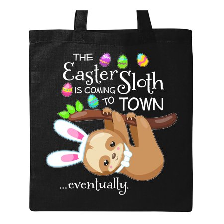 Easter Sloth with bunny ears- funny Tote Bag