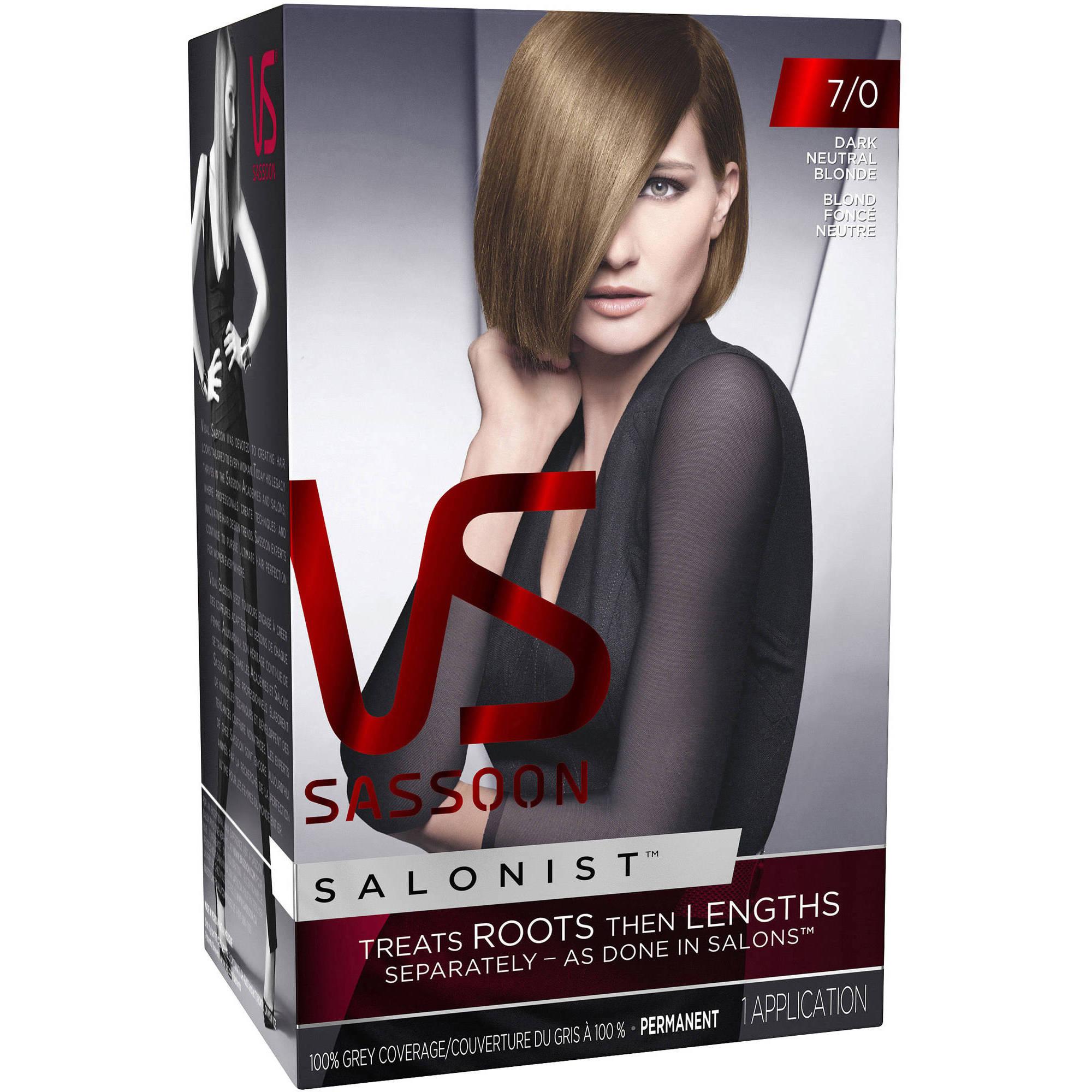 Vidal Sassoon Salonist Hair Color (Choose your Color)