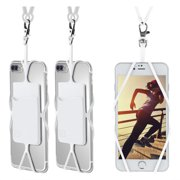 Cell Phone Lanyard Strap 3 Pack, Gear Beast Smartphone Case Cover Holder Lanyard Necklace Wrist Strap ID Card Slot For iPhone X 8 7 6S 6 Plus Galaxy S9 S8 S7 S6 Edge Note 8 and Other Mobile Phones