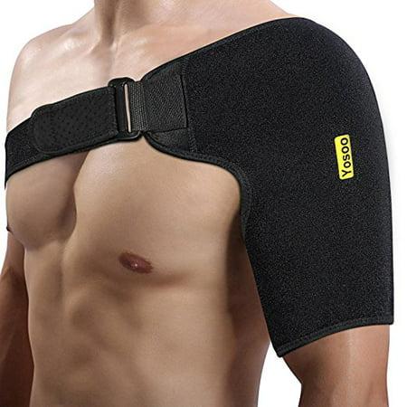 Shoulder Brace for Rotator Cuff Mesh Bag for Hot Cold Therapy Shoulder Rotator Cuff Therapy