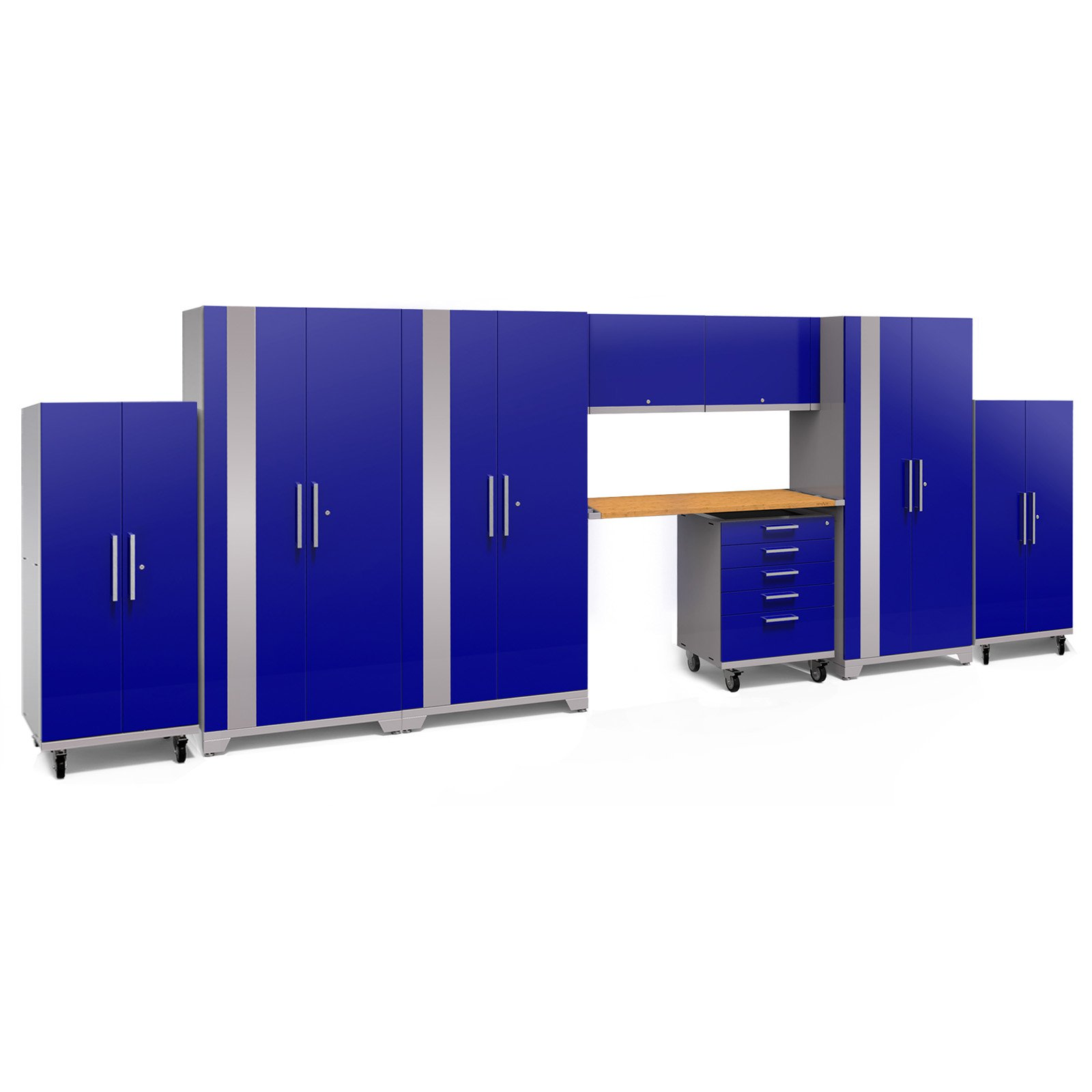 NewAge Products Performance Plus 2.0 Cabinet System - 9 Piece Set