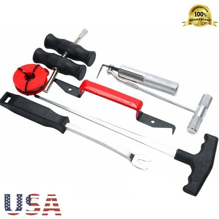 BEAD BEE 7Pc Professional Windshield Removal Automotive Wind Glass Remover Tools Kit