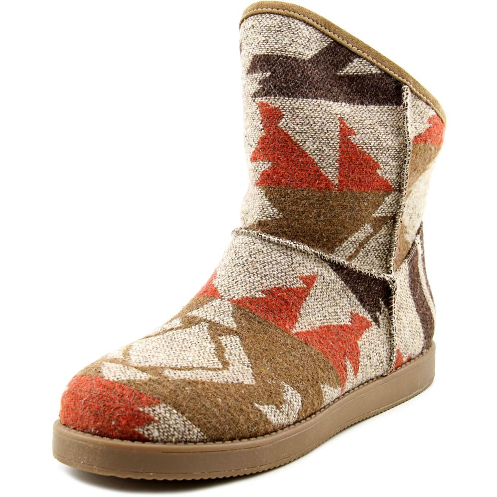 Indigo Rd. Aylee Women Round Toe Canvas Multi Color Winter Boot by Winter Boots