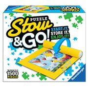 Ravensburger Stow & Go Puzzle Storage System – Stores Up to 1500 pieces (Puzzles Not Included)