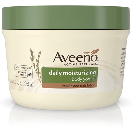 2 Pack - AVEENO Active Naturals Daily Moisturizing Body Yogurt Lotions, Vanilla & Oats 7 (French Vanilla Moisturizing Formula)