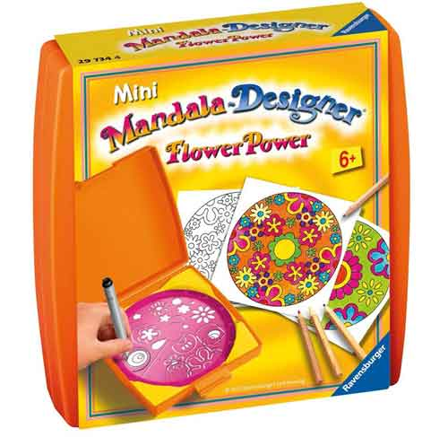Ravensburger Mini Mandala Designer Flower Power Multi-Colored