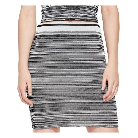 Guess Womens Kaya Knit Colorblock Mini (Guess Spandex Skirt)