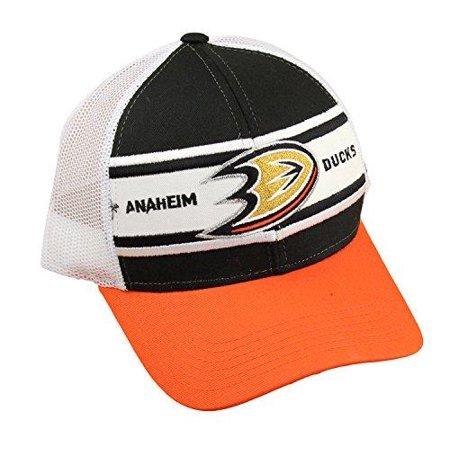 Reebok NHL Men's Anaheim Ducks Trucker Snapback Hat (Mens Reebok Hats)