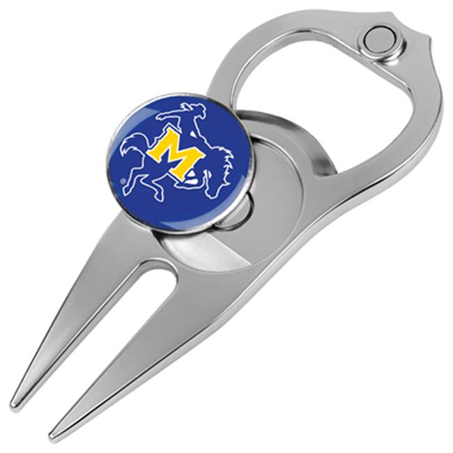 Hat Trick Openers 6 In 1 Golf Divot Tool - Mcneese State Cowboys