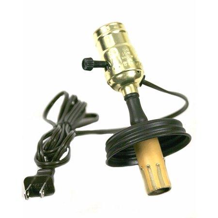 Double Socket Mason Jar Lamp Adapter This Lamp Adapter