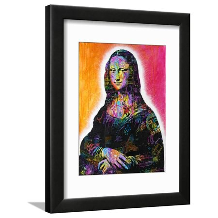 Mona Lisa Framed Print Wall Art By Dean Russo