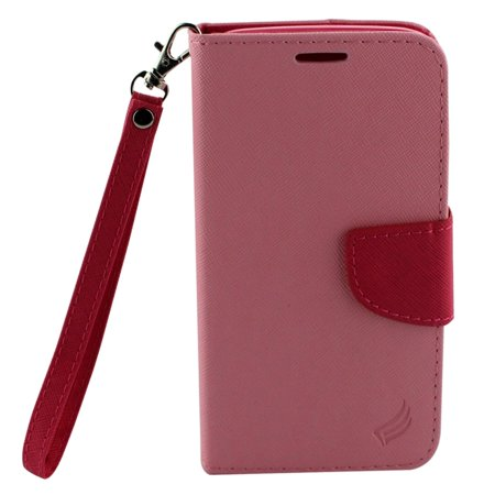 Motorola Leather Pda Case - Motorola Moto G5 Plus case, by Insten Stand Book-Style Leather [Card Slot] Wallet Flap Pouch Case Cover For Motorola Moto G5 Plus