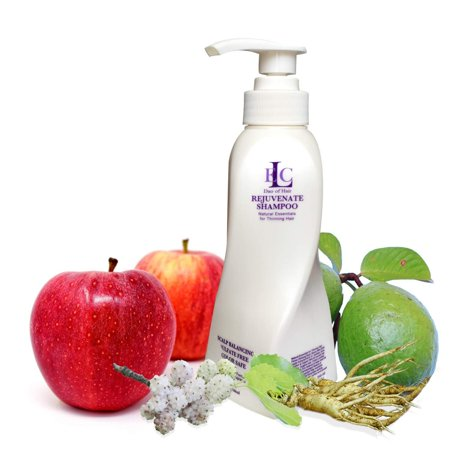 ELC Rejuvenating Shampoo 12 Ounce Is a Sulphate Free, Hair Regrowth, Nourishing, Scalp Balancing, DHT Fighting, Gentle Cleansing Shampoo for Thin or Thinning Male or Female Hair. For All Hair