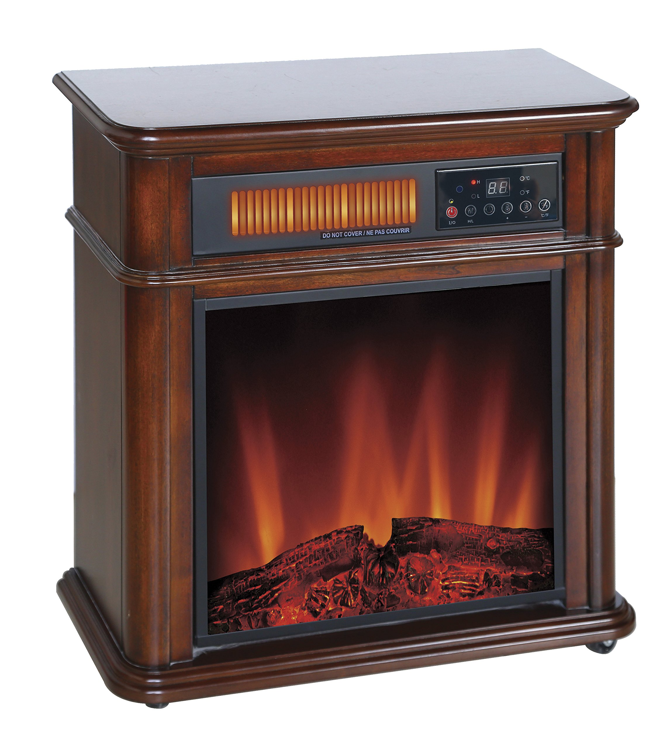 Comfort Glow The Devonshire Electric Fireplace With Infrared Quartz - Indoor - 1.50 Kw - Portable (qf4714r)