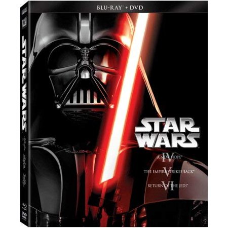 Star Wars Trilogy Episodes IV-VI (Blu-ray + DVD) - Halloween Wars 2017 Episode 3