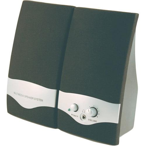 Axis Gs - 128 Multimedia Speakers, Black