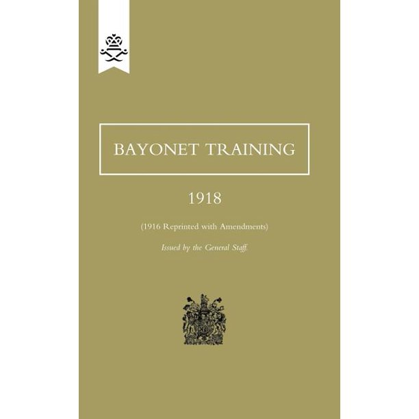 Bayonet Training 1918